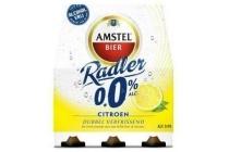 amstel radler 0 0 6 x 33cl