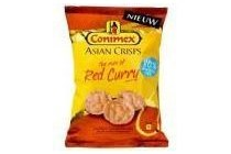 conimex asian crisps red curry