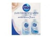 pearl drops pure bleaching white