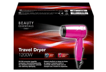 beauty essentials travel dryer