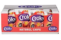 croky chips naturel doos