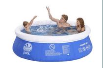 prompt zwembad met filterpomp