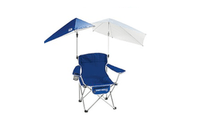 super brella chair blue