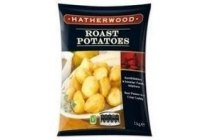 hatherwood aardappels uit de oven