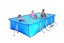bestway splash frame pool