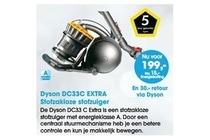 dyson dc33c extra stofzakloze stofzuiger