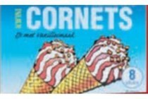 kwini cornets vanille