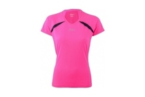 asics running v neck