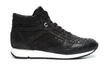 manfield zwarte sneakers
