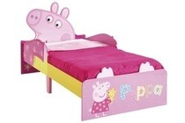peppa pig snuggle time bed