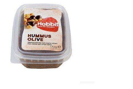 de hobbit hummus olijf sandwichspread