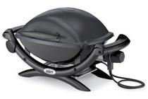 elektrische barbecue weber q1400 dark grey