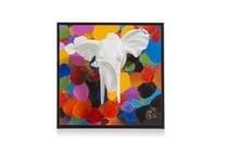 3 d wand object multicolor elephant