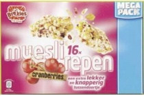mueslirepen cranberries