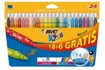 bic kids viltstiften couleur