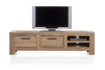 tulsa tv dressoir 2 laden 2 niches 190 cm