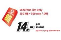 vodafone sim only 500mb 300 min sms