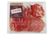 levoni italiaanse gesneden vleeswaren