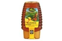 honing met citroen knijpfles