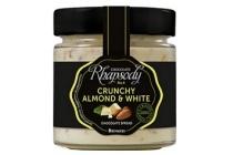 brinkers rhapsody crunchy almond en amp white