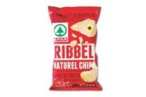 spar ribbelchips naturel