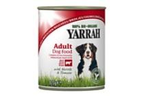 yarrah hond brokjes rund in saus brandnetel tomaat