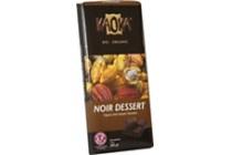kaoka chocoladereep dark dessert 55 cacao