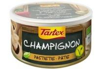 tartex pate champignon