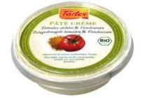 tartex pat en eacute cr en egrave me zongedroogde tomaten