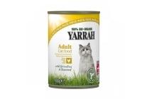 yarrah kattenvoer pat en eacute met kip