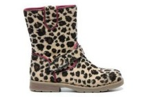 blox meisjes enkellaarsjes luipaard
