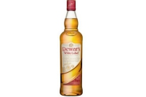 dewar s white label scotch blended whiskey