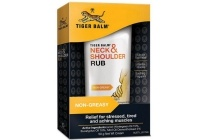 tiger balm neck en amp shoulder rub