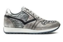 giga sneaker zilver