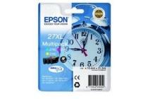 epson multipack t27154010 cyaan magenta geel xl