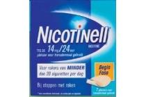 nicotinell pleister