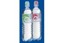o2 life bronwater met fruitsmaak