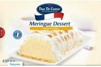duc de coeur meringue dessert