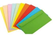 united office gekleurde enveloppen
