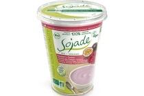 sojade soja yoghurt framboos passievrucht