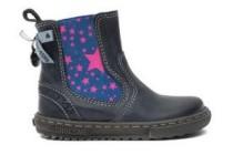 shoesme korte laars blauw