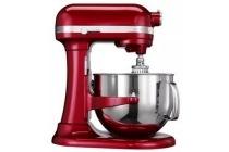 kitchenaid artisan mixer rood