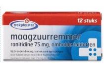 trekpleister maagzuurremmer 75 mg ranitidine