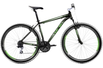 mountainbike green arrow