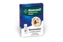 mansonil all worm flavour hond adult