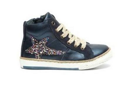 piure blauwe sneakers