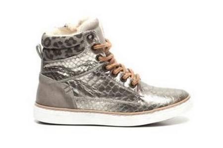 piure zilveren sneakers