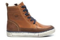 hush puppies cognac sneakers
