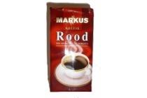 markus koffie rood