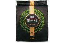 moreno mild koffiepads